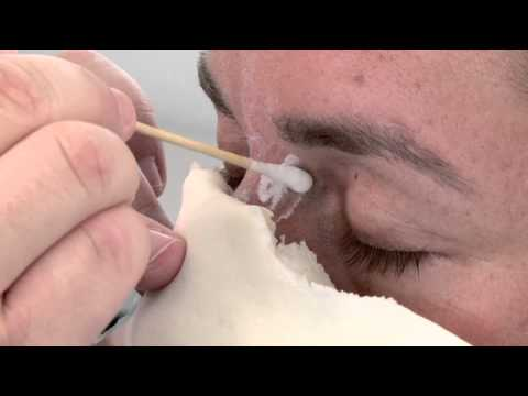 "Special FX Makeup Tutorial - Foam Latex Prosthetic Application ""Dweller"" Part 1"