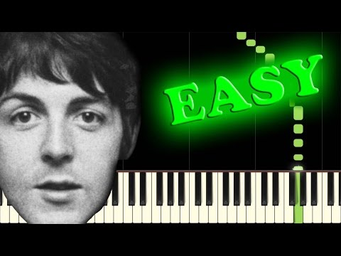 THE BEATLES  LUCY IN THE SKY WITH DIAMONDS  Easy Piano Tutorial