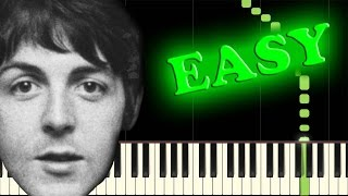 Video THE BEATLES - LUCY IN THE SKY WITH DIAMONDS - Easy Piano Tutorial download MP3, 3GP, MP4, WEBM, AVI, FLV November 2018