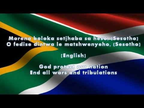 South African Nation Anthem (Lyrics + English Translation)