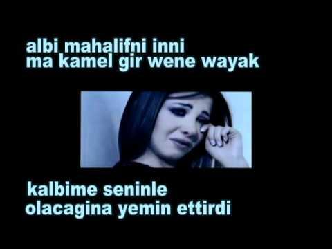 Nancy Ajram Meen Dah Elly Nseik  (Turkish Subtitle)