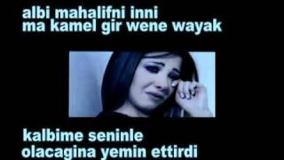 Nancy Ajram Meen Dah Elly Nseik  (Turkish Subtitle)