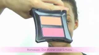 Makeup Tips - How to apply blush for dark skin/black women **ILLAMASQUA DUO BLUSHER**