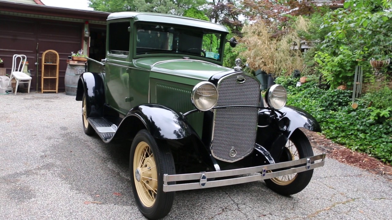 1931 Model A Pickup For Sale~With Current Owner For Over 26 Years ...