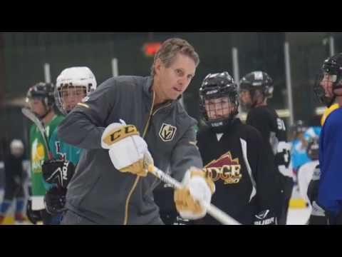 NHL's Golden Knights planning future outreach to grow hockey in Montana