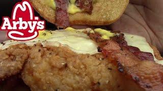 Arbys Chicken Bacon and Swiss Sandwich