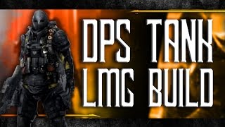 AMAZING DPS Solo Tank PvP Build - Lonestar Banshee LMG Shredder - The Division