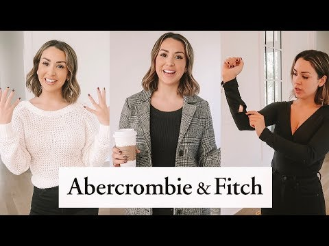 WEARING ONLY ABERCROMBIE & FITCH FOR A WEEK | ALEX GARZA