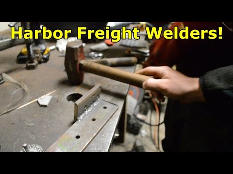 Harbor Freight Welder Test
