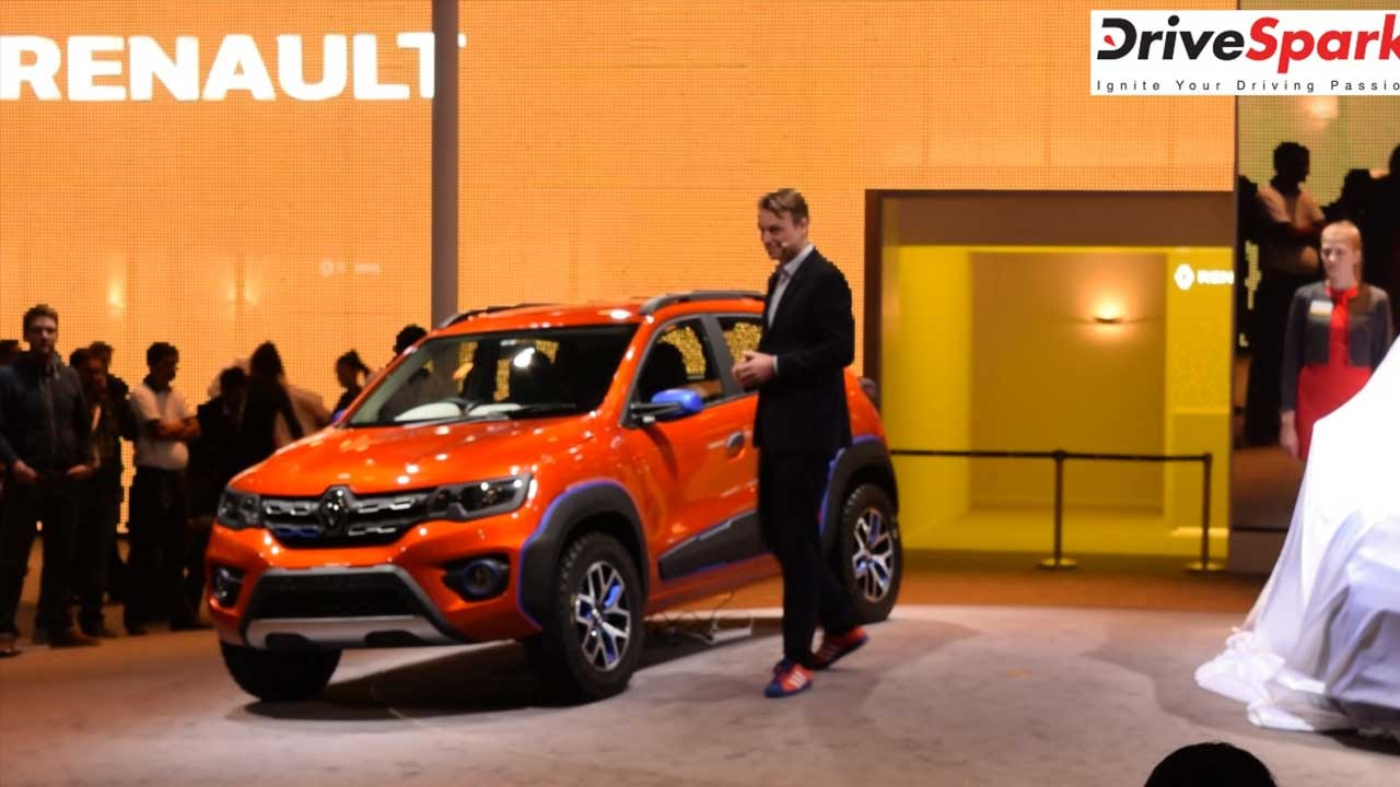 Renault kwid racer climber unveiled at auto expo 2016 drivespark youtube