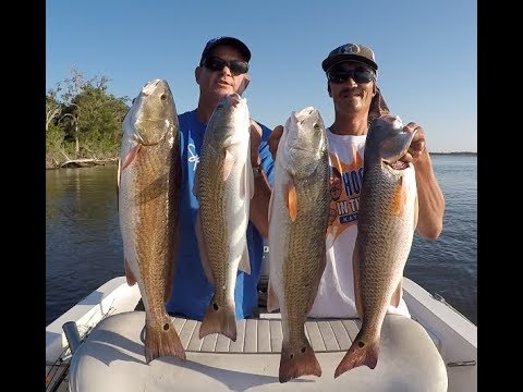 Slaying Slot Sized Redfish In Northeast Florida- Fea.HookEm In The Mouth