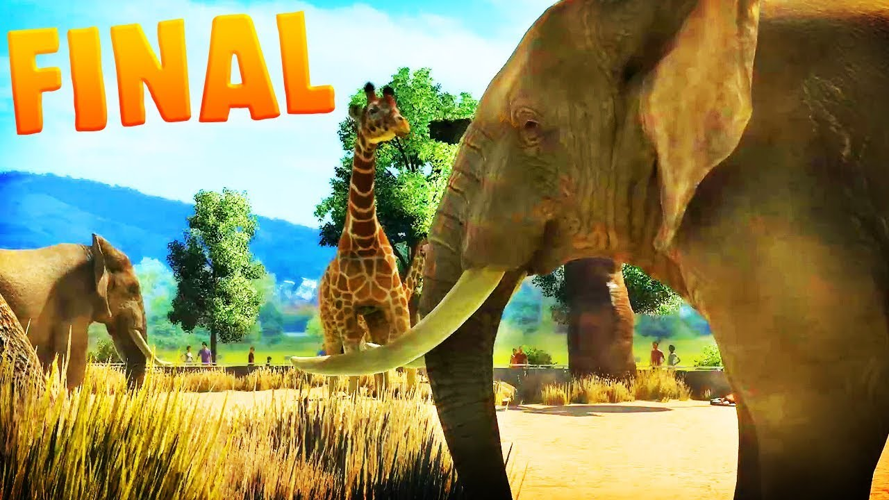 THE SAFARI ZONE | Zoo Tycoon : Ultimate Animal Collection FINAL EPISODE