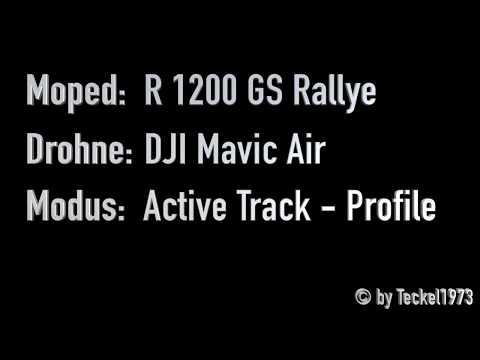 DJI Mavic Air Drohne - Active Track Modi: Trace - Profile - Spotlight