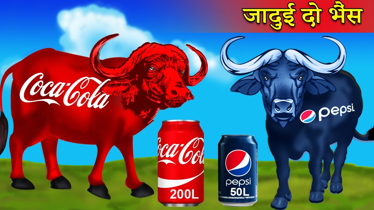 जादुई दो भैंस Magical Buffalo Magical Ballon Motor Bike Hindi Kahaniya Hindi Story Comedy Video