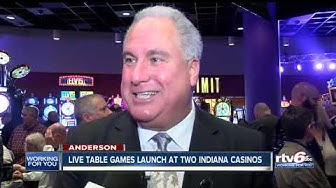 Live table games launch at two Indiana casinos