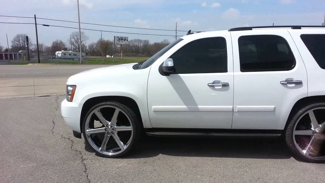 Custom White Paint Suburban
