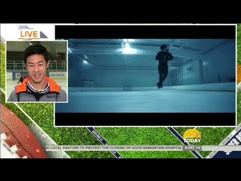Nathan Chen Superbowl Commercial Reveal on Today Show
