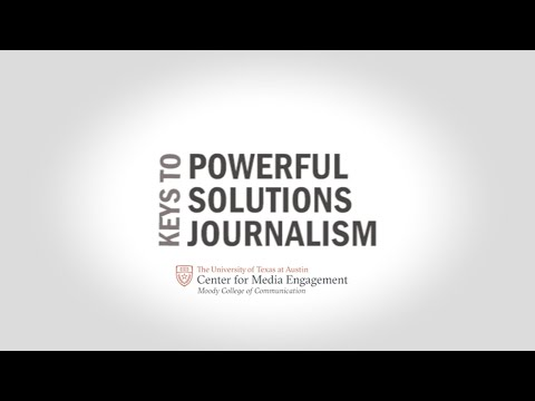 People avoid consuming news that bums them out. Here are five elements that help them see a solution