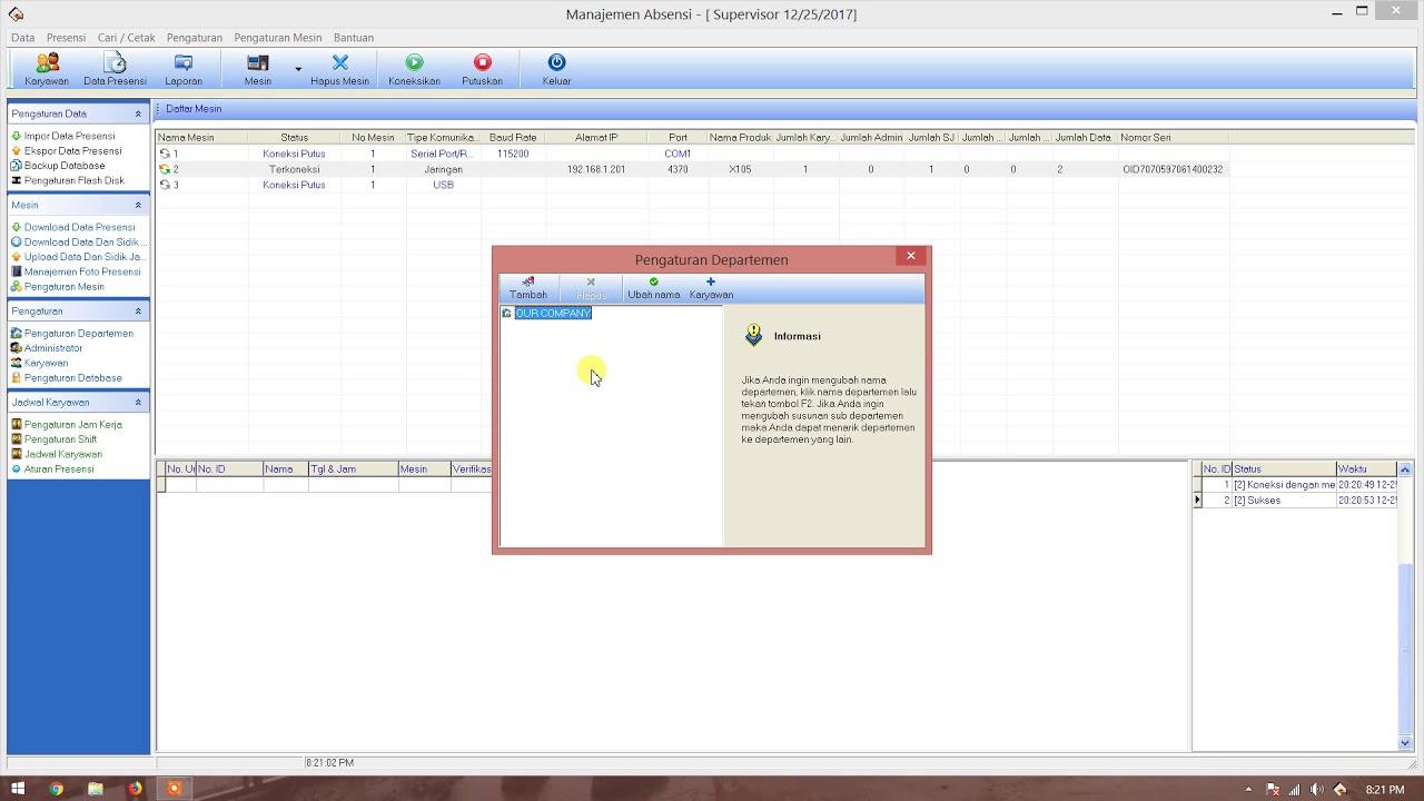 Download Software Fingerprint Solution X105 Id - Download Gratis