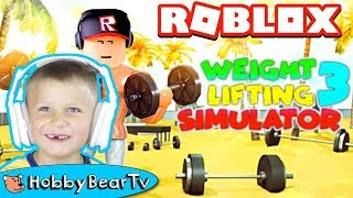ROBLOX Weight Lifting Simulator3