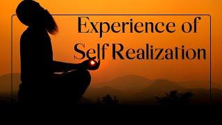 La experiencia de la auto-realización