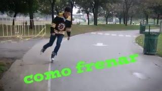 como frenar con patines en linea tutorial (4 maneras)