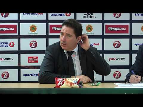 Euroleague Post - Game Press Conference: Panathinaikos Superfoods vs AX Armani Milan