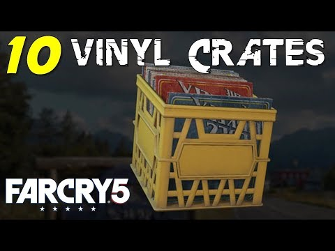 Location Of All Vinyl Crates Turn The Tables Mission Walkthrough