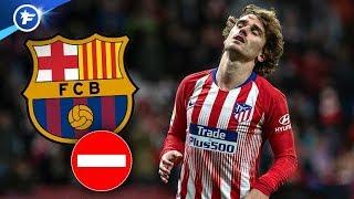 Le vestiaire du Barça met son veto à la venue d'Antoine Griezmann  | Revue de presse