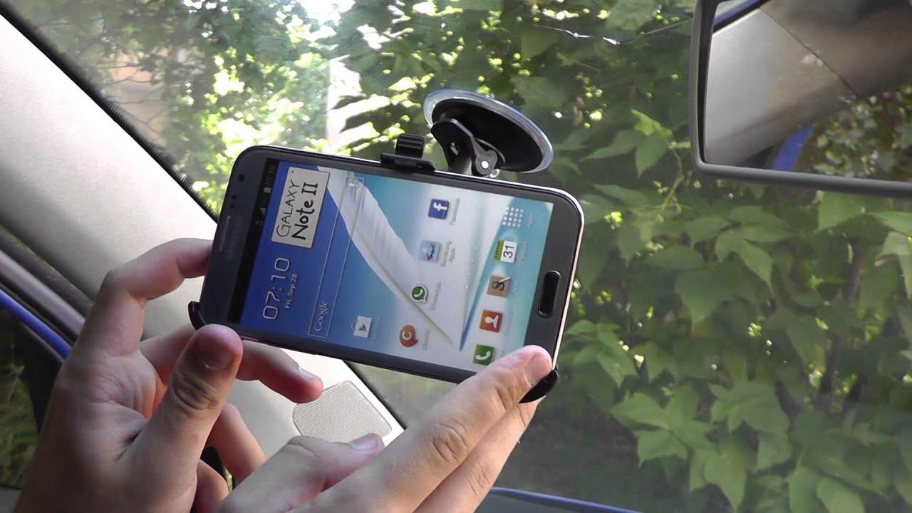 Авто-держатель для Samsung Galaxy Note 2 | самсунг автомобили
