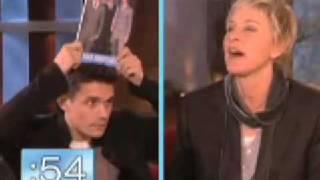"John Mayer & Ellen play ""Celebrity"""