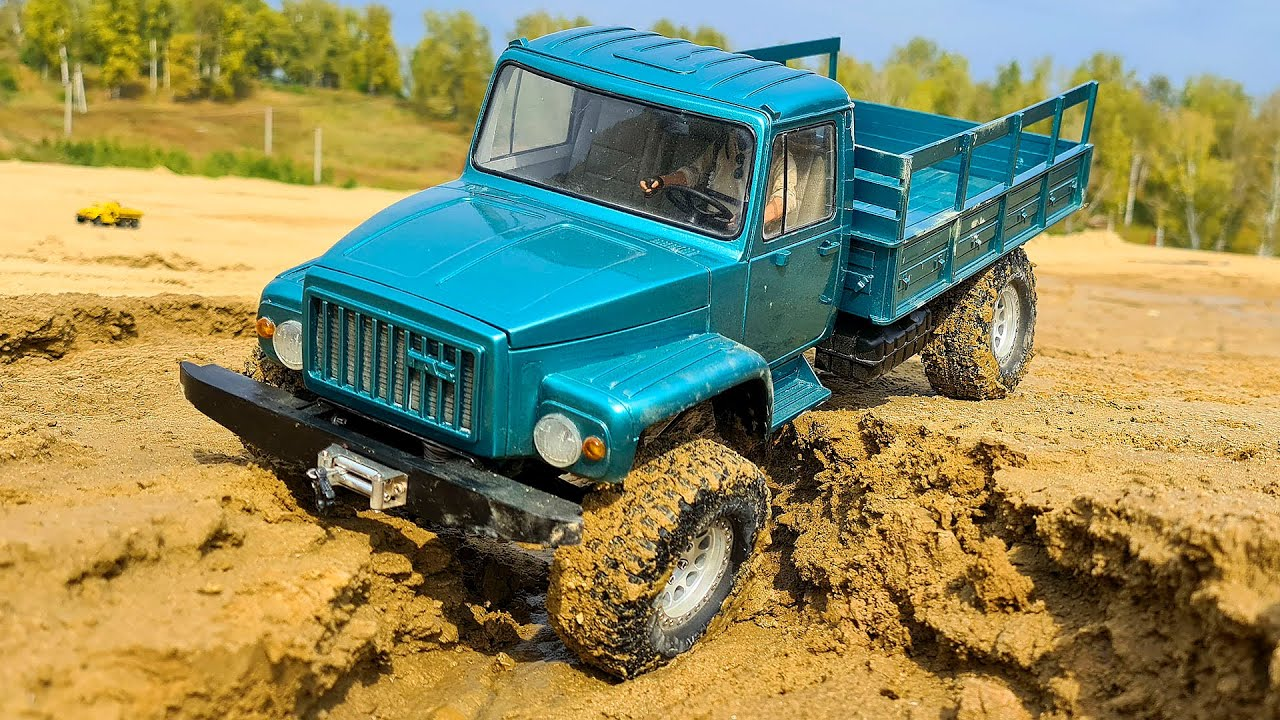 GAZ Sadko 3308 4x4 – CUSTOM MADE RC Truck