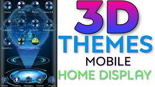 3D Themes For Android    Home Display Launcher App Review And Demo    #থ্রিডি_থিম screenshot 2