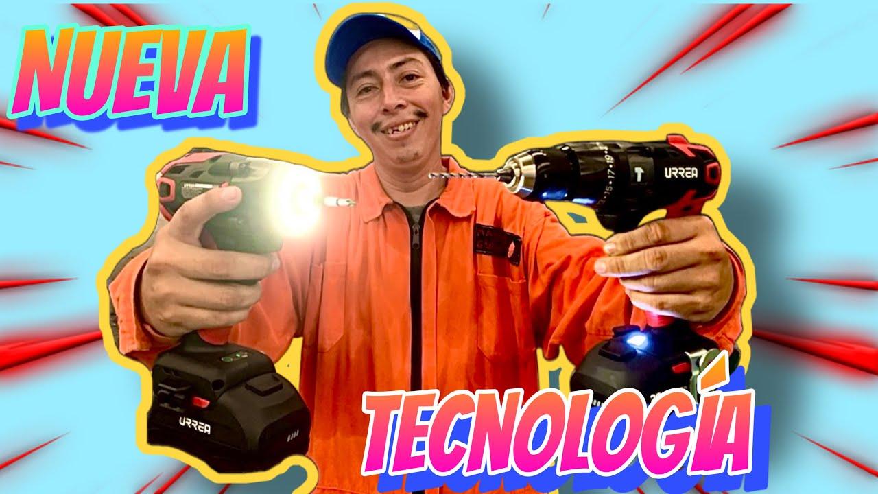 NUEVO ROTOMARTILLO Y ATORNILLADOR DE ULTIMA TECNOLOGIA INALAMBRICOS [ EL PATRON SE PUSO GUAPO ]