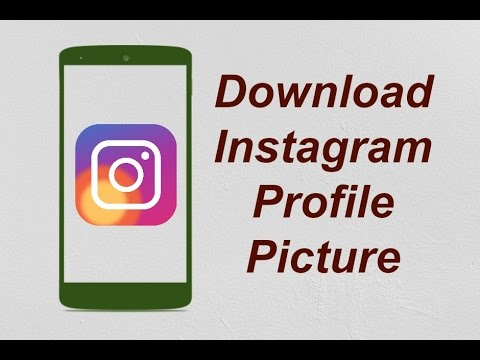 How to Save Instagram Profile Picture