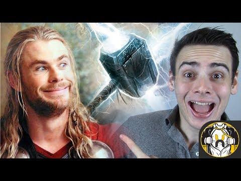 Mjolnir RETURNS in Avengers Infinity War!