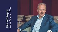 CEO Urs Schaeppi zum ersten Quartal 2020