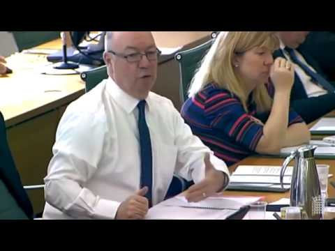 Brexit: Alistair Burt Questions David Davis 15 Mar 2017