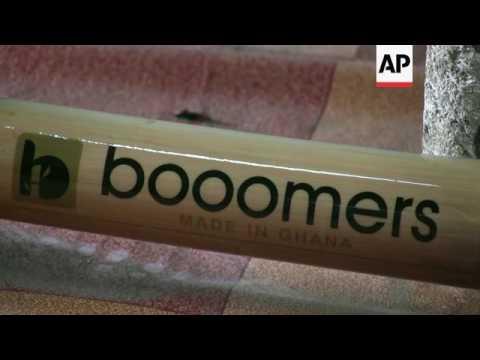 Bamboo bikes a boost for Ghana
