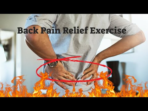 back pain relief exercise  yoga for fast back pain relief