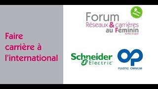 Forum Réseaux et Carrières au Féminin 2021 : Faire carrière à l'i…