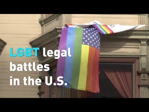 LGBT Legal Battles In The U.S.
