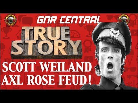 Guns N' Roses: True Story Behind The Axl Rose & Scott Weiland Feud (Velvet Revolver)!