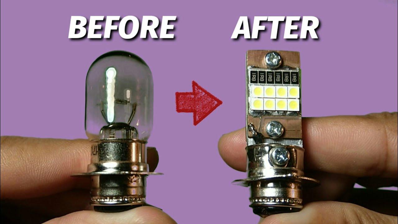 Membuat Led Motor Lampu Depan 12 Volt Youtube