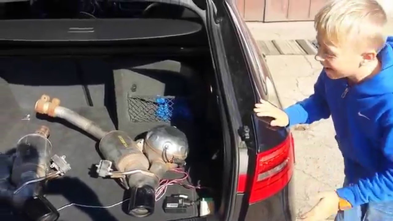 Aktywny wydech Audi A4 B8 8K0 TUNING Active Sound Booster
