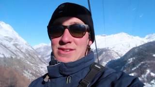 Skiing in Switzerland - Snowboarding the SWISS ALPS!! (Zermatt, Switzerland)