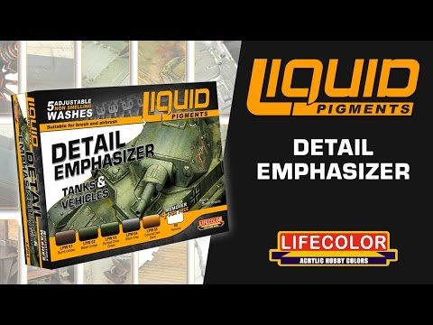 Liquid Pigments : How To Use - Detail Emphasizer