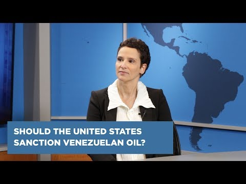 Should the United States Sanction Venezuelan Oil?