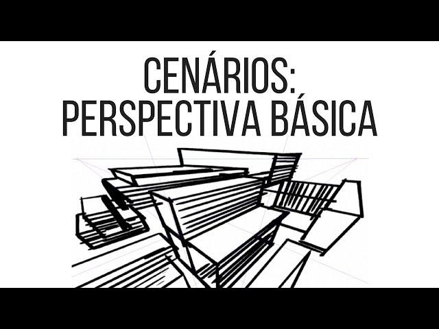 Tutorial - Cenários de HQ - Perspectiva básica
