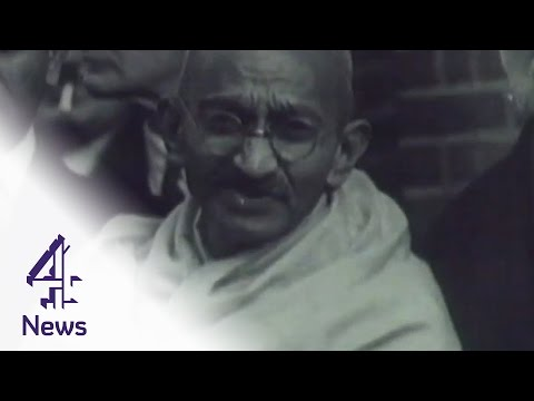Who was Mahatma Gandhi & what did he do for India? | Channel 4 News